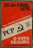 Partido Comunista Português, voto seguro