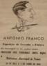 Exposição, Caricatura e assinatura de Franco 1936