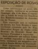 Exposição Rosas, mata dos Sete Montes, Roque de Pinho