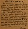 Voleibol, Mocidade Portuguesa