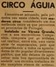Circo Águia, Várzea Grande