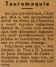 toureiro Manuel da Costa, tauromaquia