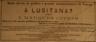 estabelecimento de víveres, A Lusitana