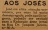 solidariedade, Josés