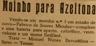 Moinho de azeitona, Serra