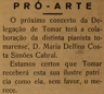 Pró-Arte, Delfina Costa Simões Cabral, música
