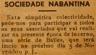 Sociedade Nabantina, bailes