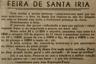 feira de Santa Iria, feira da Passas, salamim, alqueire, medidas de capacidade, preços