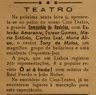 Teatro, Cine-Teatro, Estêvão Amarante