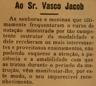 Natação, Vasco Jacob