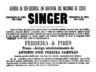 Singer, máquina de costura