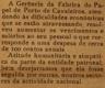 Fábrica Papel Porto de Cavaleiros, crise