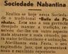 Sociedade Nabantina, baile da Pinhata