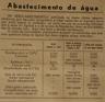 abastecimento e captação de água, Agroal, Mendacha, análise qualidade da água