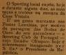 Sporting de Tomar, Casa Vístulo, Sporting Clube de Portugal, estádio José Alvalade - inauguração