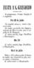 Programa da festa de S. Gregório
