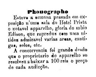 Exposição de aparelho de fotografia.