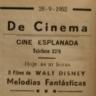 cinema, Cine Esplanada