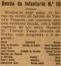 Concerto, Banda Regimento Infantaria 15, Várzea Pequena