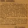 Dr. Vieira Guimarães - estátua, comendador da Orddem de Cristo, quinta de Marmelais