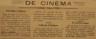 Cine-Teatro, cinema