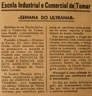 Escola Industrial e Comercial, Dr Júlio Dias das Neves, Semana do Ultramar