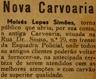 carvoaria, Moisés Lopes Simões