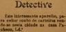 Detective, roubos