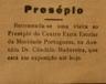 Mocidade Portuguesa, presépio
