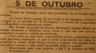 5 de outubro, António Matias de Araújo