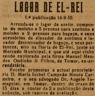 Lagar d`El-Rei, Manuel Mendes Godinho & Filhos, Horta d`El-Rei