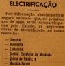 Eletrificação, luz elétrica, Junceira, Asseiceira, Linhaceira, Mouchão Parque, Mendacha, Quinta do Falcão