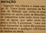 Natação, Vasco Jacob, açude do Mouchão