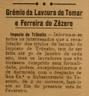 GRÉMIO DA LAVOURA, isenção imposto de trânsito