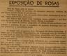 Exposição de Rosas, Club Tomarense, floricultura