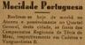 Mocidade Portuguesa, ténis de mesa