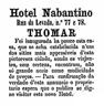 Hotel Nabantino, rua da Levada