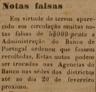 notas falsas, Banco de Portugal