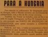 Donativos para a Hungria
