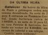 assaltos, Farmácia Central, Patrício & Sarroeira, bairro de Além da Ponte