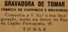 rua da Legião Portuguesa, Fábrica de Carimbos, Gravadora de Tomar