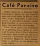 CAFÉ PARAÍSO, Manuel Joaquim Mota Grego, salão de bilhar