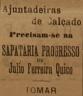 calçado, Júlio Ferreira Quico