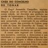 Casa do Concelho, Armando Casquilho