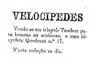 venda de velocipedes