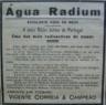 Águas de mesa medicinais, Águas Radium, radioativa