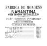 Tabela de preço na moagem a Nabantina