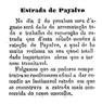 obras na estrada de Payalvo