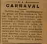 Sociedade Banda Nabantina, Carnaval
