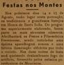 Montes, Festa de Santa Sofia